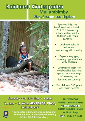 Flyer Rainforest Kindergarten Oct-Nov