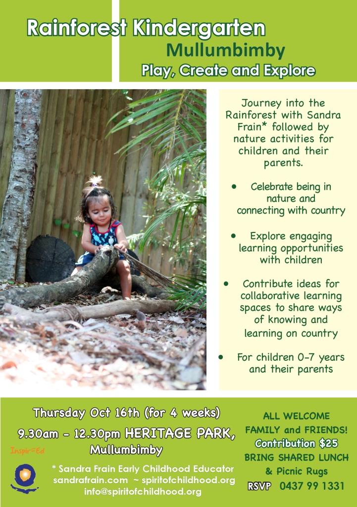 Flyer Rainforest Kindergarten Oct-Nov