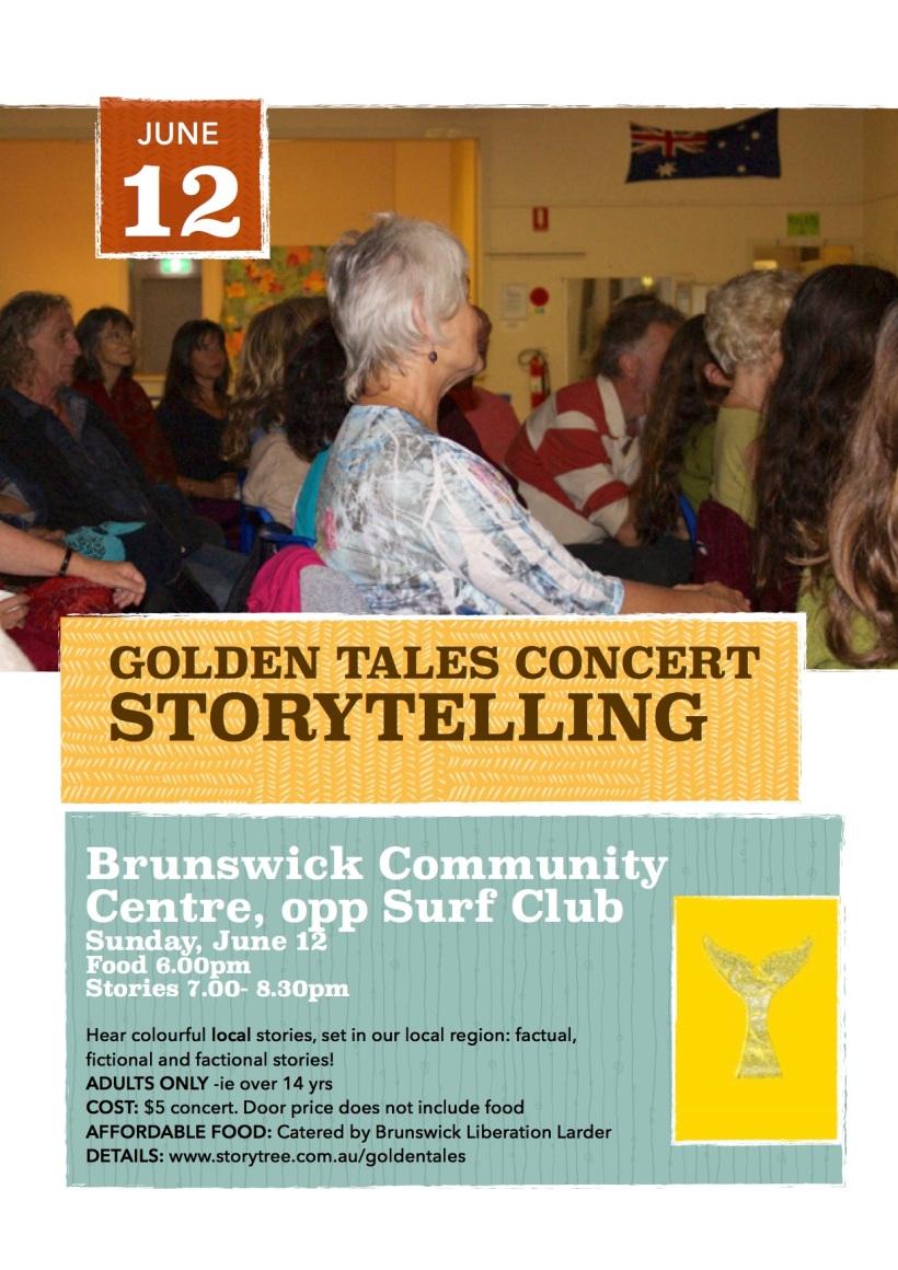 Golden Tales storytelling concert June 2016